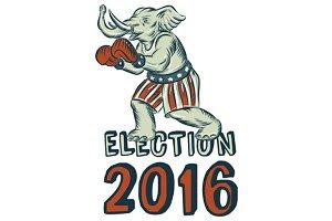 Election 2016 Republican Elephant Bo