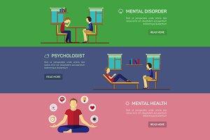 Mental disorder - vector