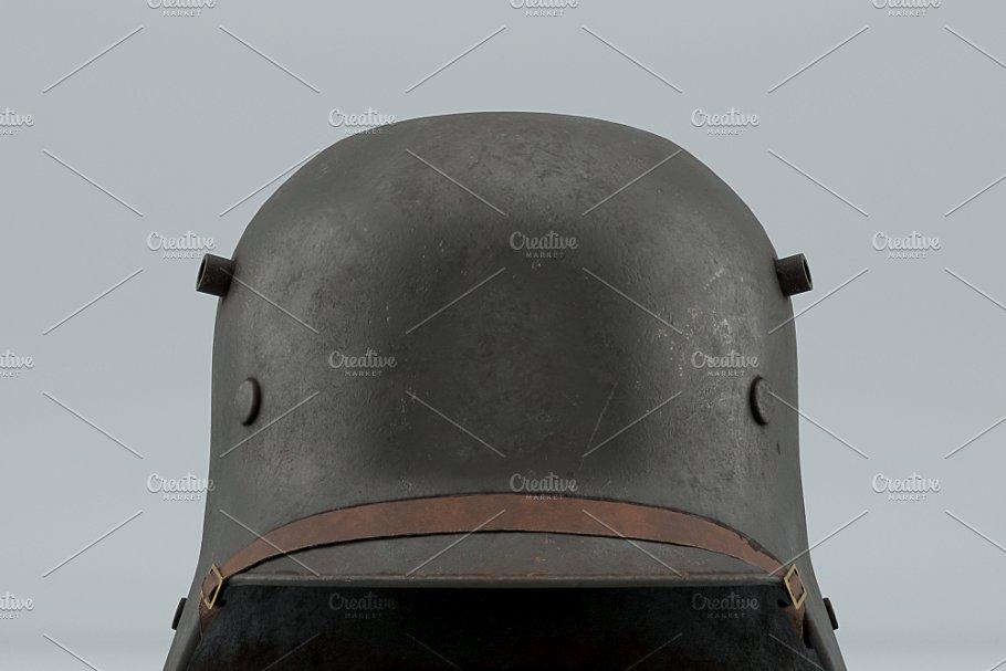 German Helmet WWI Stahlhelm M1916 ~ Weapon Models ~ Creative