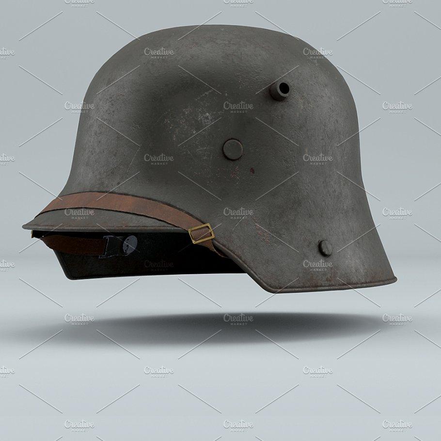 German Helmet WWI Stahlhelm M1916