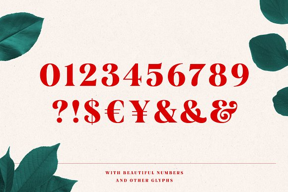 Mogan Font + Extras in Display Fonts - product preview 13