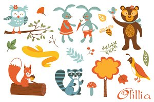 Woodland creatures fun