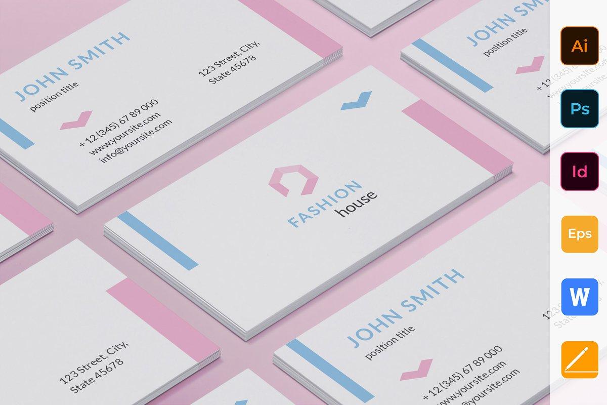 Fashion Shop Business Card