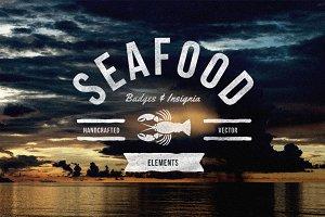 Seafood Badges & Insignia