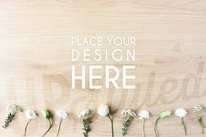 Floral Mock Up Stock Photo A110