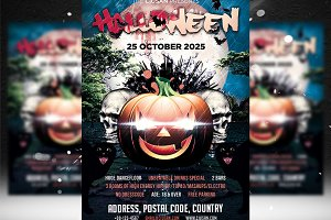 Halloween Flyer Template 5