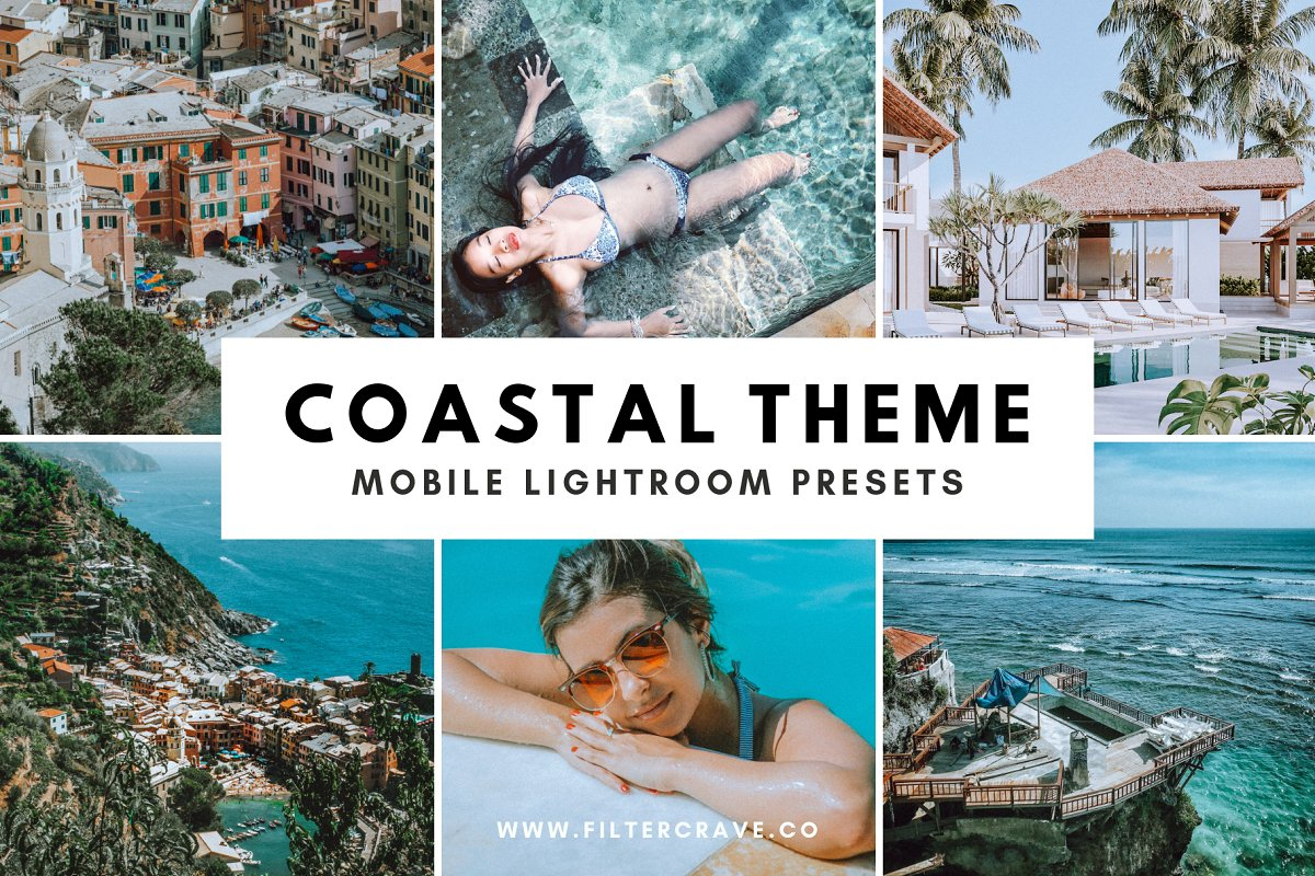 Coastal Mobile Lightroom Presets