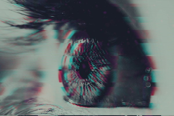 Glitch effect Photos, Graphics, Fonts, Themes, Templates