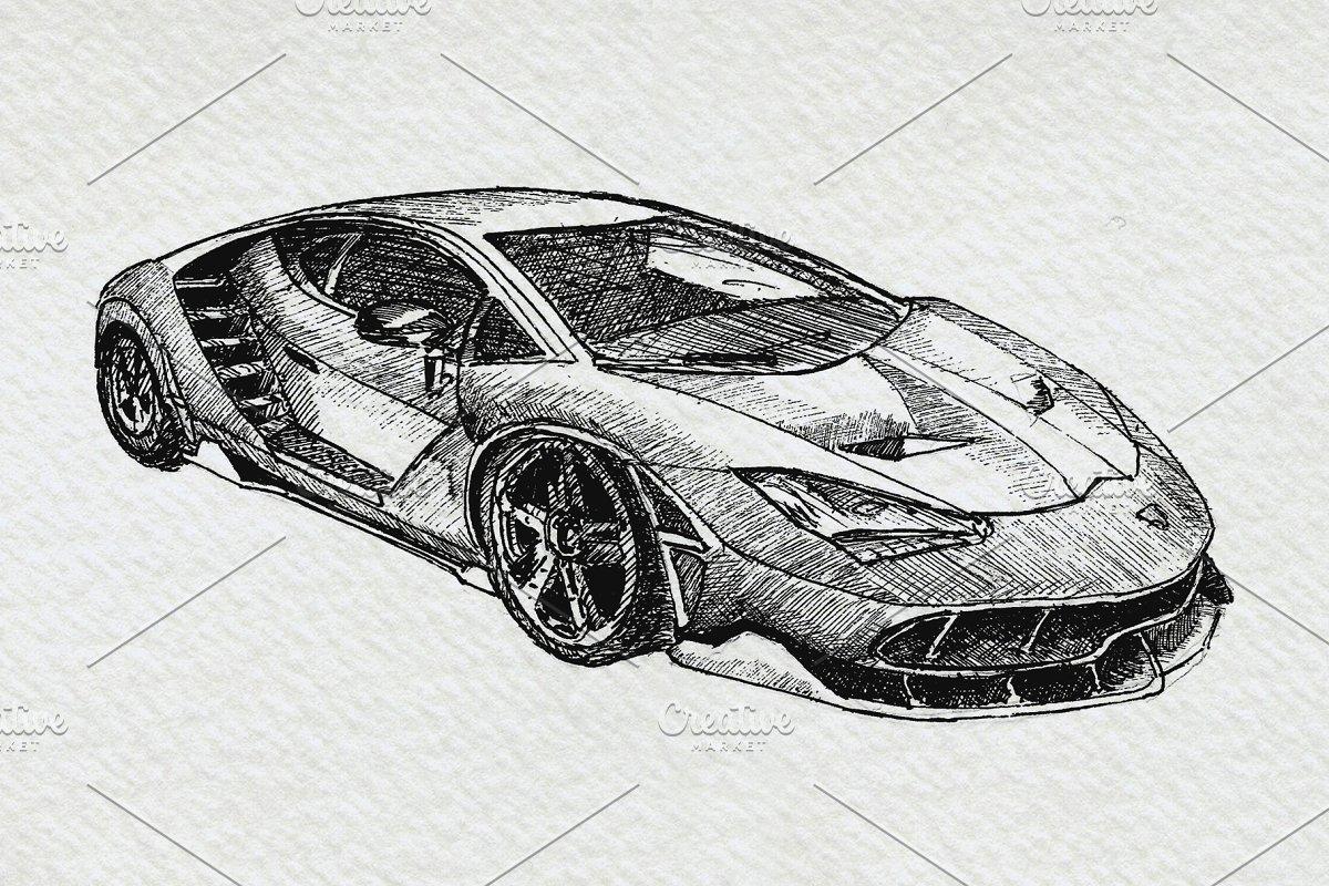 Clipart Sports Car