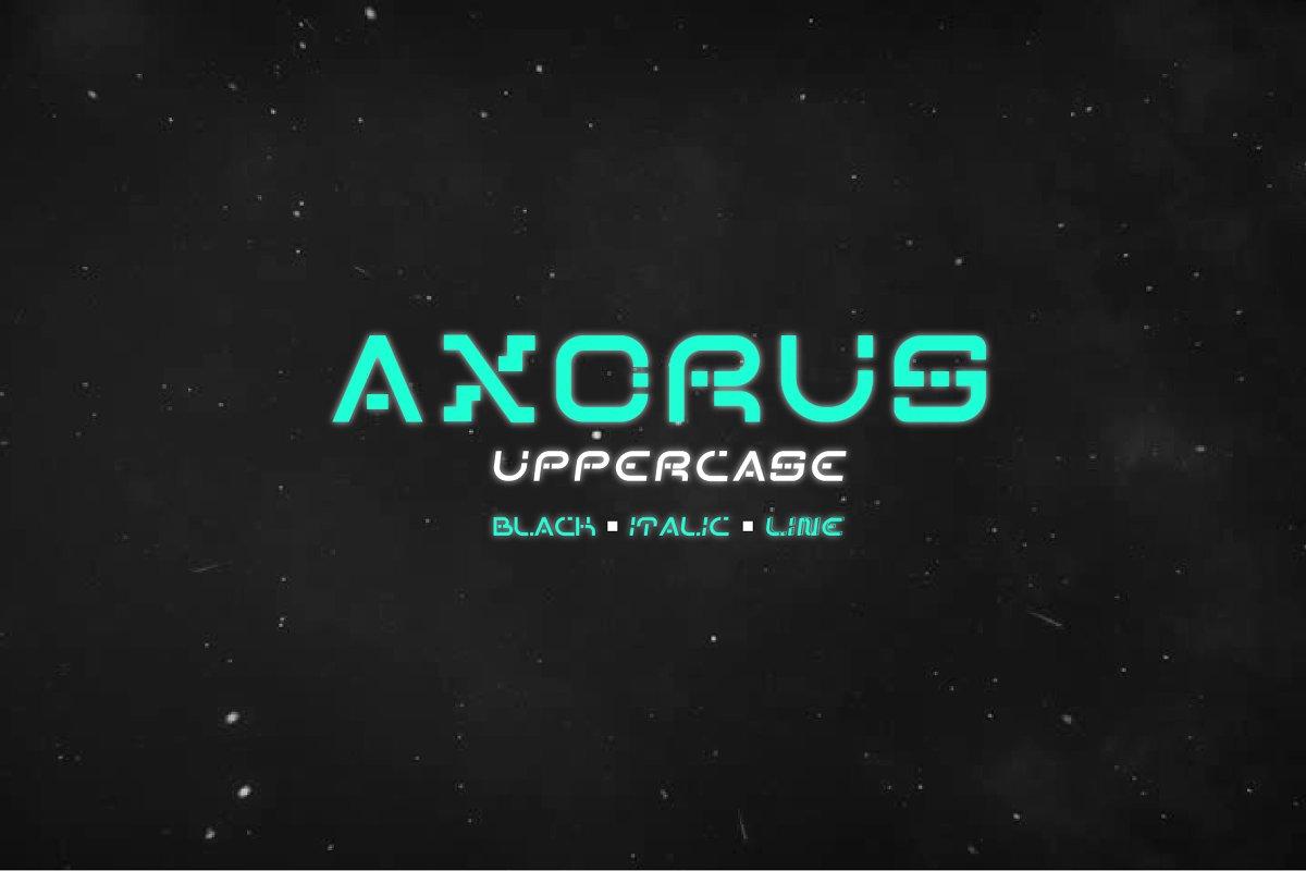 axorus font