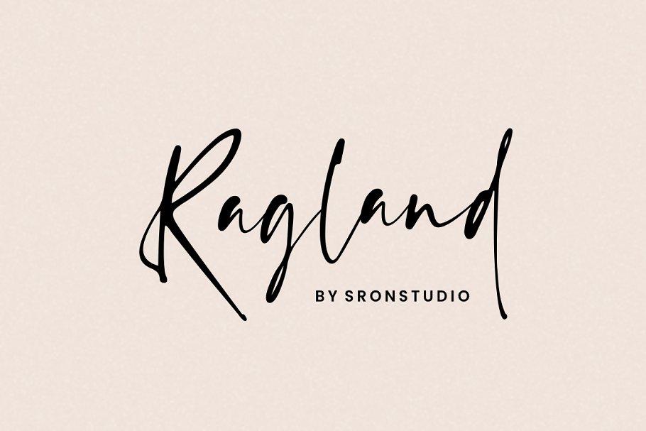 Ragland - Handwritten Font