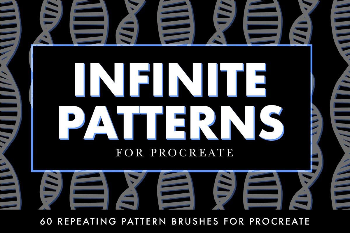 INFINITE PATTERNS Procreate Brushes