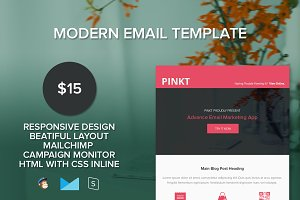 Pinkt-Responsive Email Template