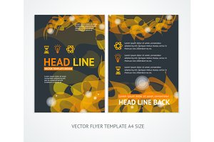 Flyer Design Templates Abstract