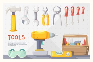 19 Vector Tools and 4 Labels