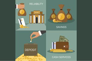 Set of banking concepts