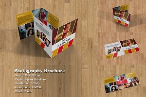 Bifold Photography Brochure-V167