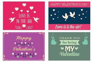 Valentines Day greeting cards Vol 3