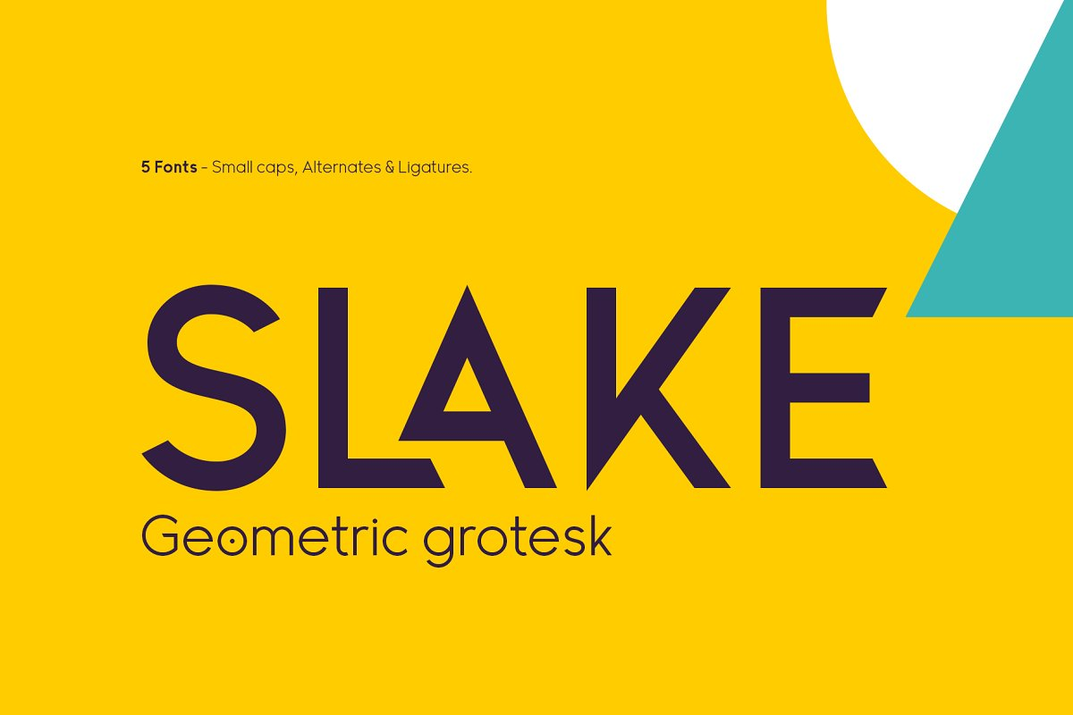 Slake Typeface