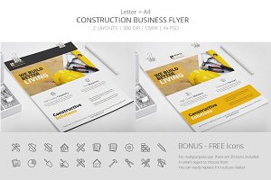Construction Business Flyer