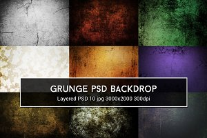 Grunge PSD Backdrop