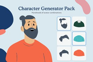 Persona Photos, Graphics, Fonts, Themes, Templates ~ Creative Market