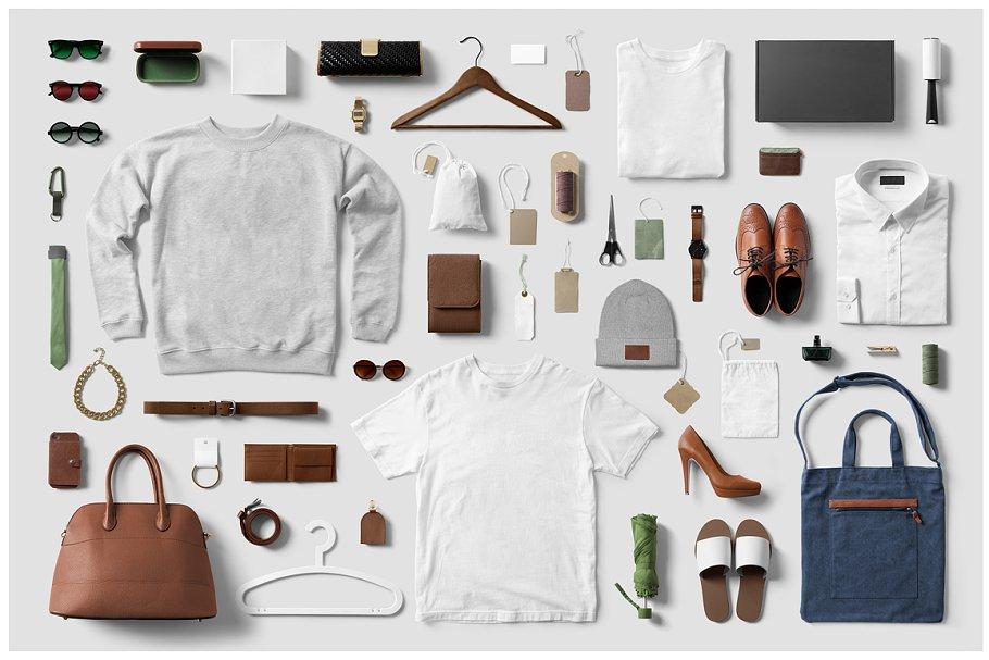 Clothing / Fashion / T-Shirt Mockup ~ Branding Mockups ~ Creative Market