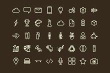 Bizzare Icon Set - 103 Vector Icons
