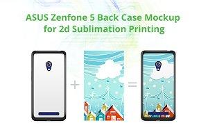 Zenfone 5 2dCase Design Mockup