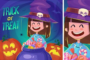 Little cute witch