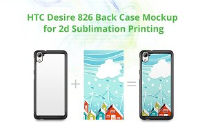 Desire 826 2dCase Design Mockup