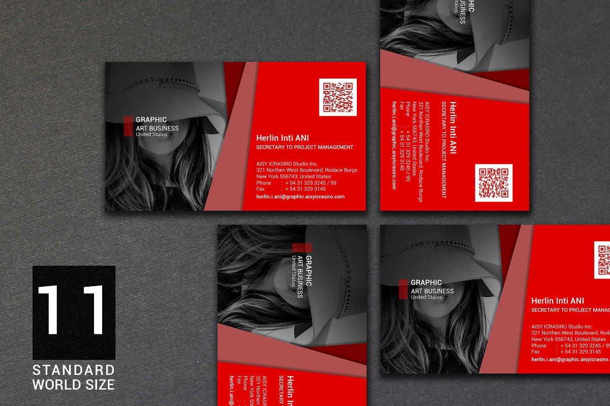 Business Card Vol. III Standard Size