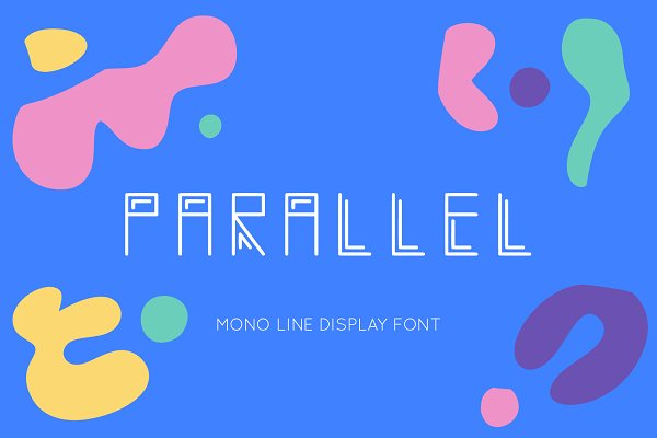 Monogram Font TTF OTF Circular ~ Display Fonts ~ Creative Market