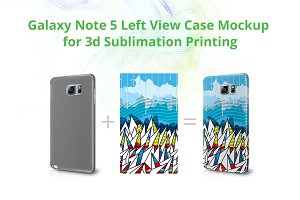 Galaxy Note 5 3dCase Design Mock-up