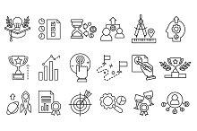 Design, creative & idea infographic ~ Illustrations on