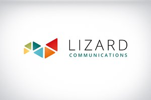 Lizard modern and minimalist logo
