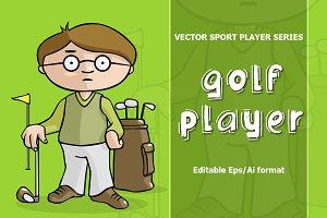 VECTOR Golf player