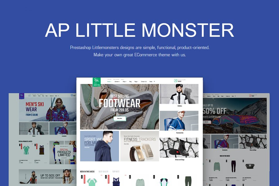 AP LITTLE MONSTER SPORT SHOP PRESTAS
