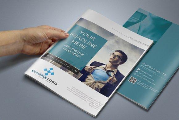Creative A5 Brochure Template