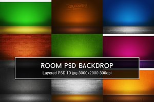 Room PSD Backdrop
