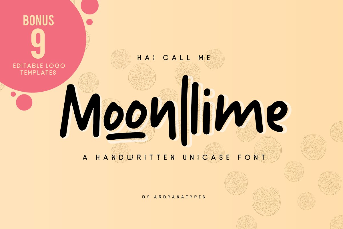 Moonllime in Display Fonts - product preview 8