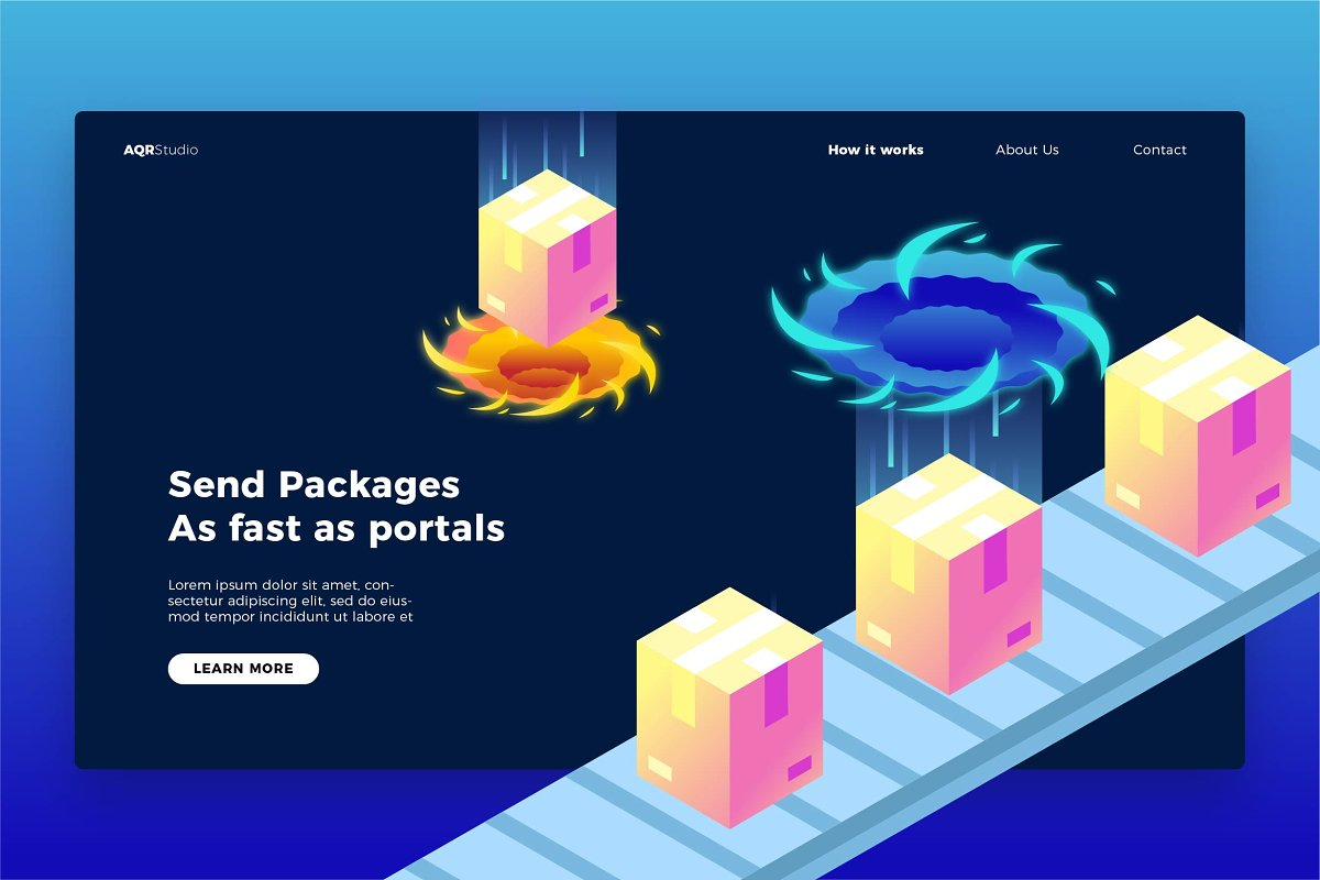 Portal Package - Banner&Landing Page
