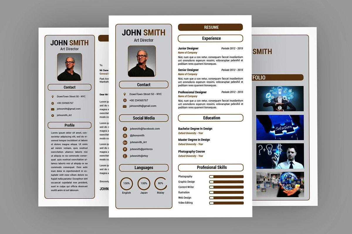 Showy CV Resume Designer
