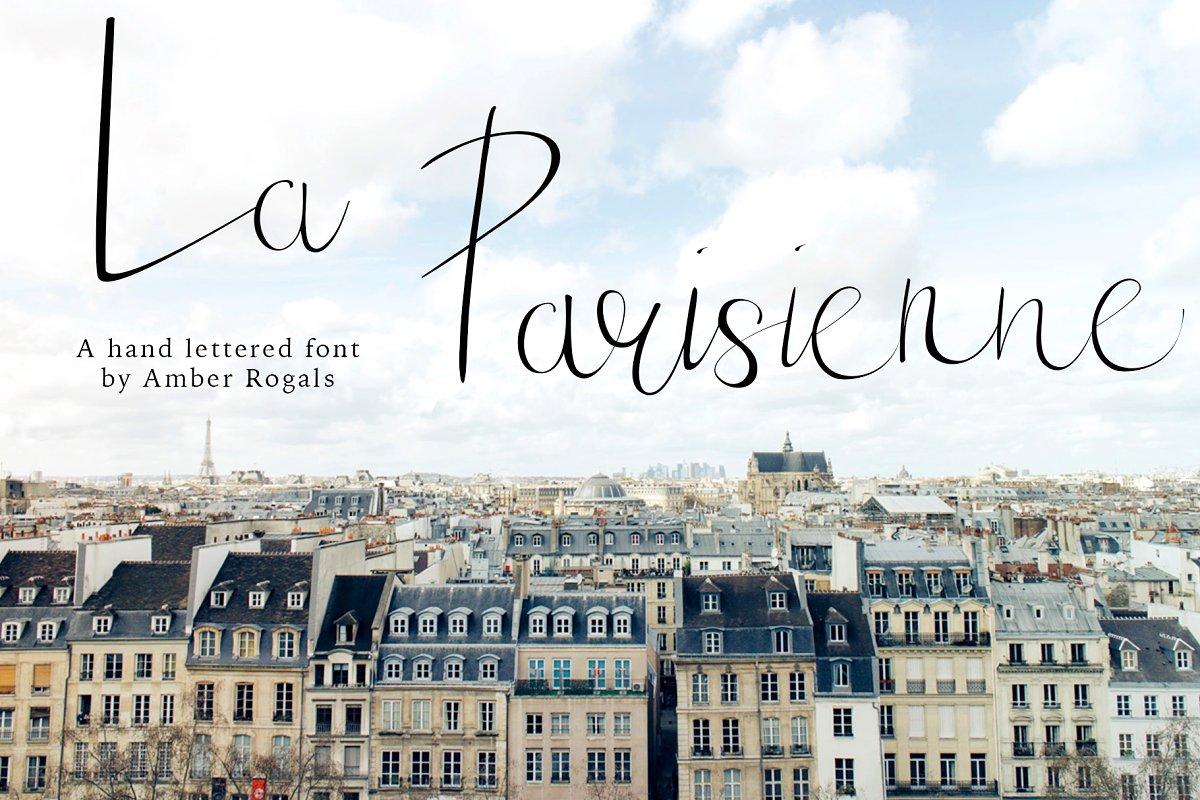 La Parisienne- A Hand Lettered Font
