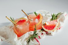 Homemade Grapefruit Cocktail by  in Food & Drink