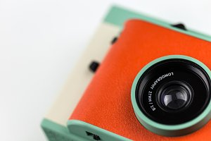 Retro Camera Closeup
