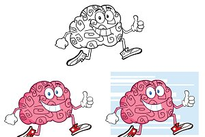 Brain Character Jogging Collection