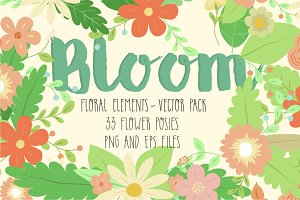 Bloom ~ Flower Posies