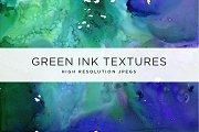 Green Ink Textures
