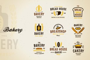 Bakery Vector Set